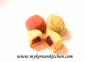 Sweet Rice Cake (Gyeongdan)