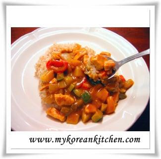 Japanese Style Chicken Curry Rice - My Korean Kitchen