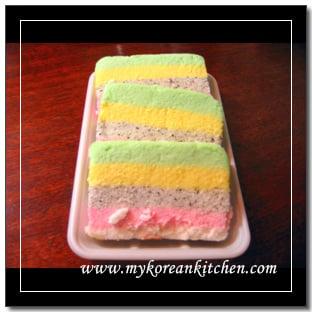 Rainbow Rice Cake Recipe Korean