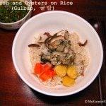 Radish Oyster Rice | MyKoreanKitchen.com