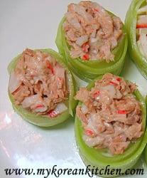 Tuna Cucumber Sushi Rolls