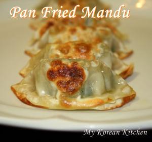 Instant dumplings- Panfried mandu