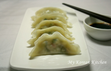 Instant dumplings- Steamed mandu