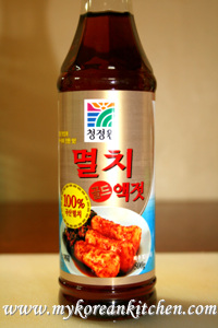 Korean Fish Sauce