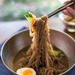 Mul Naengmyun (Korean Cold Noodle Soup) | MyKoreanKitchen.com