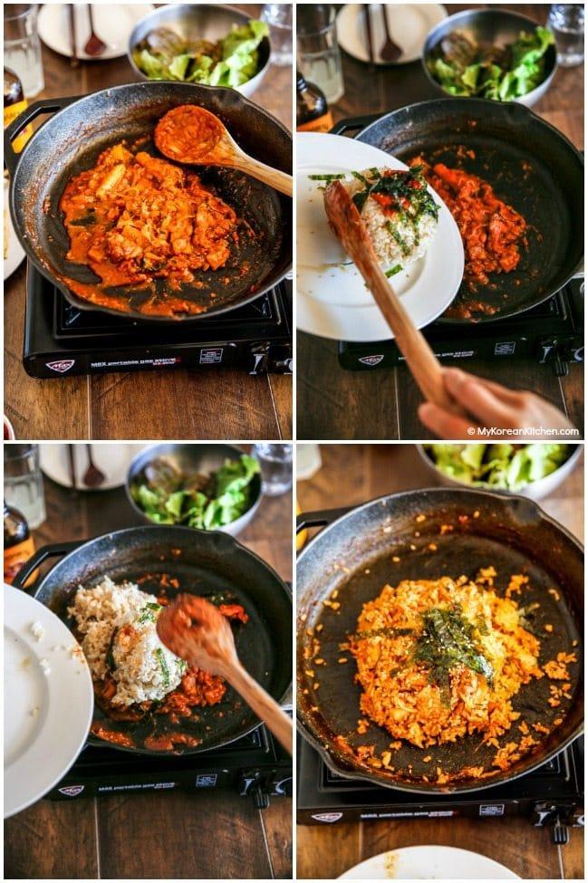 Dak Galbi Korean Spicy Chicken Stir Fry My Korean Kitchen