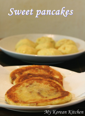 Korean Sweet Pancake Mix (Hotteok)