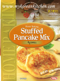Sweet Pancake Mix (Hoddeok) package