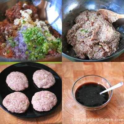 Simmered Meat Patties in Teriyaki like sauce - Jangsanjeok3