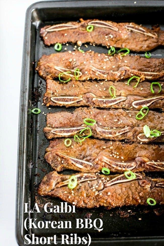 LA Galbi (Korean BBQ Short Ribs) - My Korean Kitchen