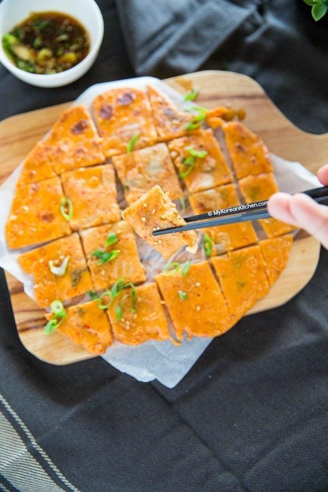 Kimchi Jeon Recipe | MyKoreanKitchen.com
