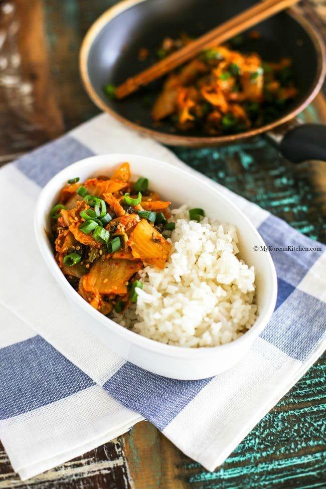 Kimchi Rice Bowl | MyKoreanKitchen.com