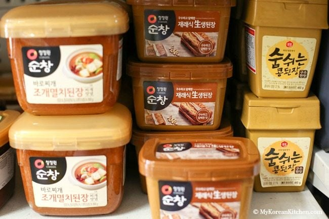 Essential Korean Cooking Ingredients: Korean soybean paste (Doenjang) | MyKoreanKitchen.com