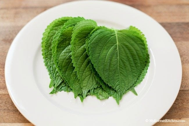 Korean Perilla Leaves