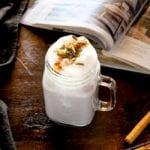 Sweet Potato Latte | MyKoreanKitchen.com