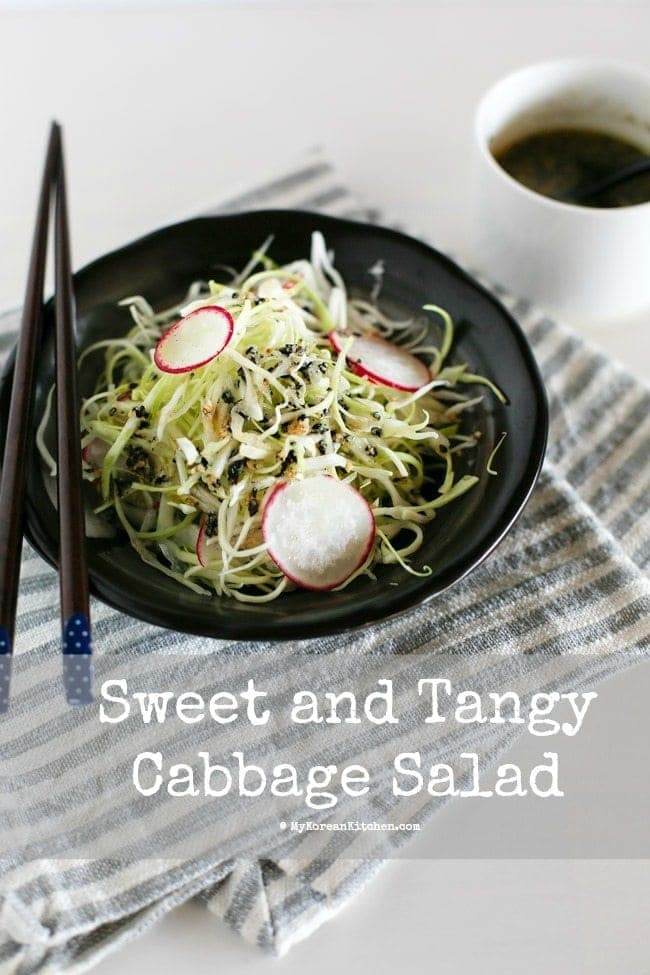 Korean Cabbage Salad