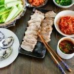 Apple Infused Bossam (Korean Pork Lettuce Wraps) | MyKoreanKitchen.com
