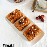 Korean Sweet Rice with Dried Fruit and Nuts (Yaksik) | MyKoreanKitchen.com
