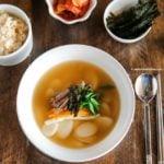 Tteokguk (Korean rice cake soup) | MyKoreanKitchen.com