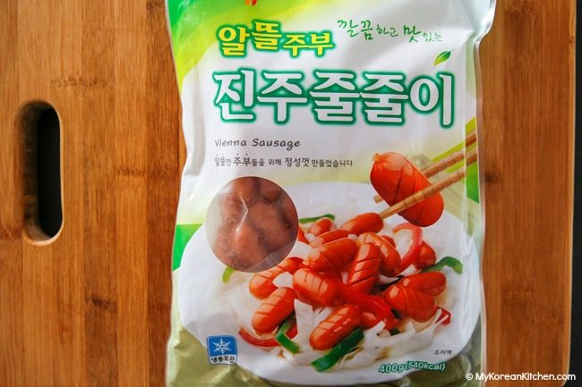 Korean Vienna sausage
