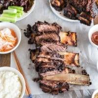 Oven Baked Korean BBQ Beef Ribs Recipe | MyKoreanKitchen.com