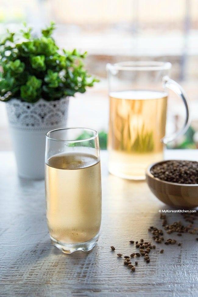 Korean Barley Tea (Boricha) Recipe | MyKoreanKitchen.com