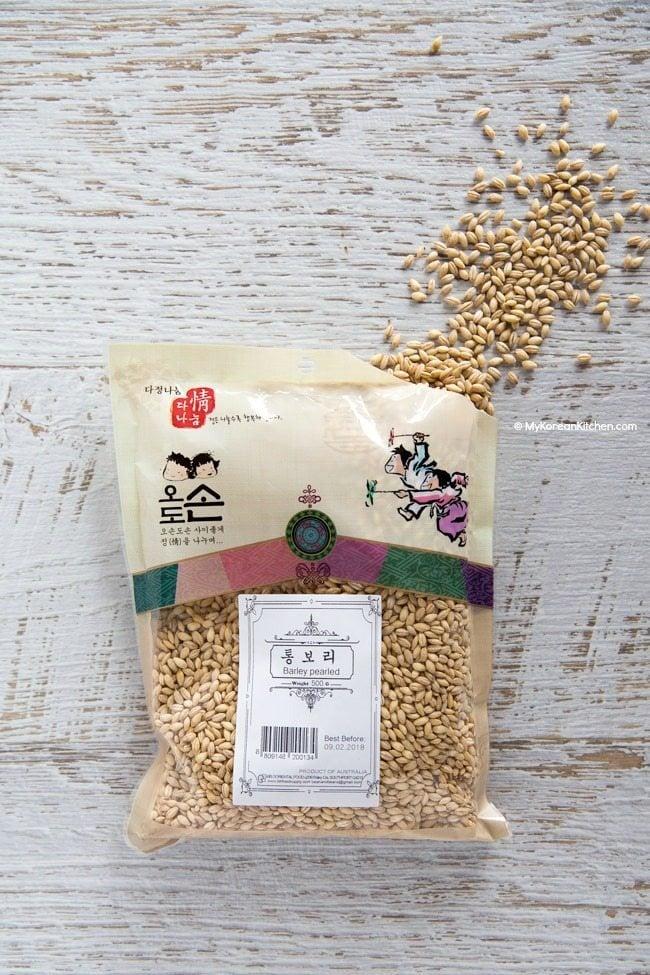 Korean Pearl Barley | MyKoreanKitchen.com