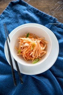 Daikon Radish Salad | MyKoreanKitchen.com