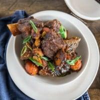 Kalbi Jjim (Korean Braised Beef Short Ribs) | MyKoreanKitchen.com