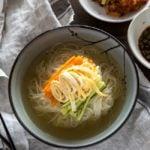 Korean Noodle Soup (Janchi Guksu) | MyKoreanKitchen.com