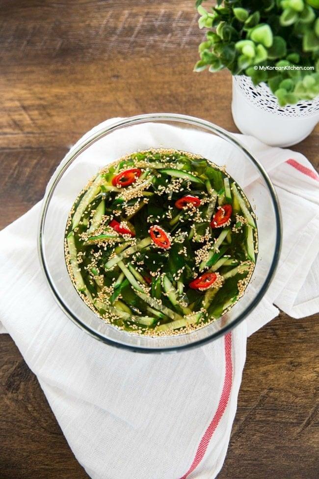 Cold Cucumber Soup   MyKoreanKitchen.com