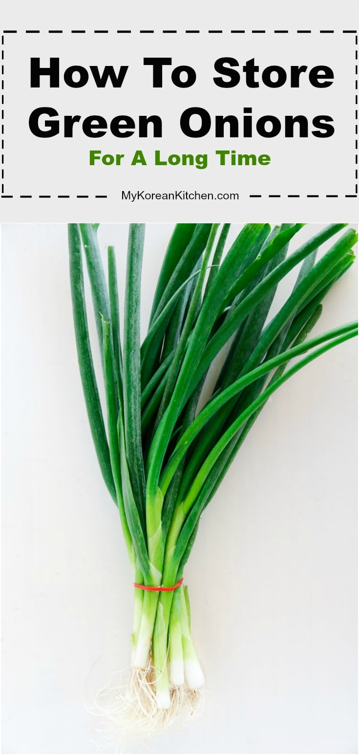 How to store green onions fresh and for a long time (up to 5 weeks!)