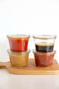 Bibimbap sauce, 4 ways